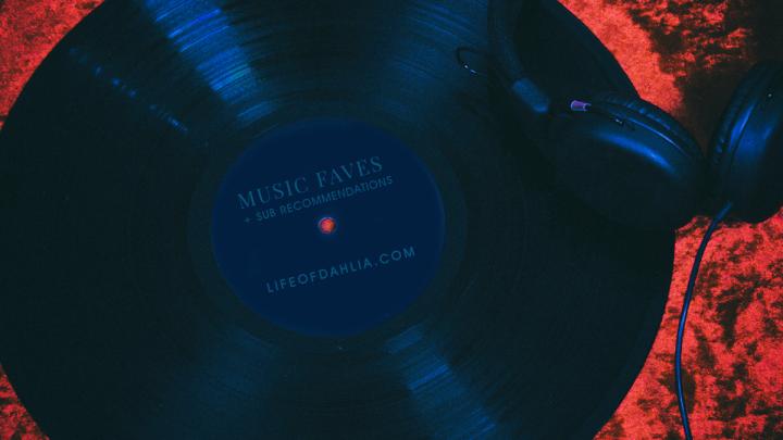 Music Favourites + Subscriptionrecommendations