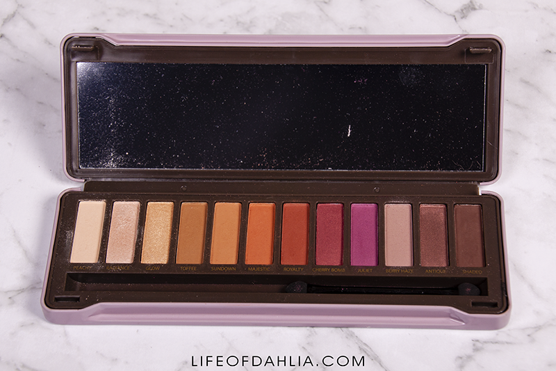 Affordable vs. Highend - Warm Palettes Comparison | Life of Dahlia