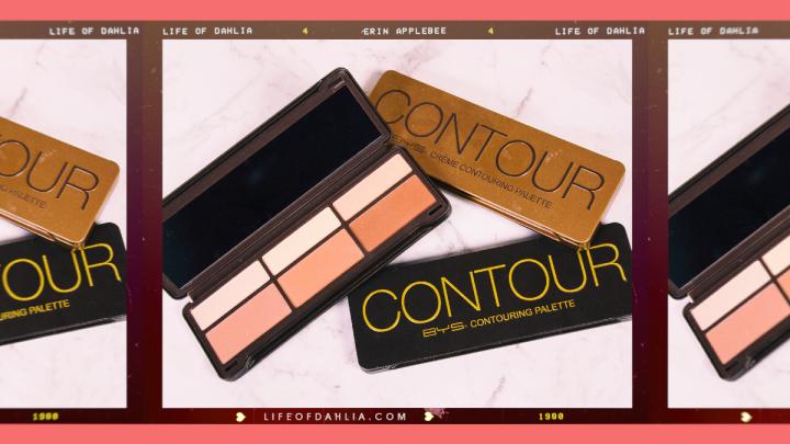 BYS Cosmetics Contour PalettesReview