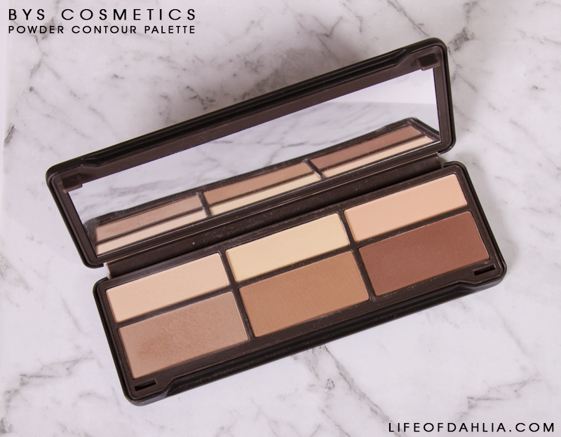 BYS Cosmetic Contour Palette Review | Life of Dahlia