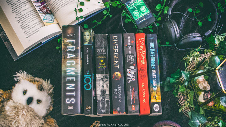 My Favourite Book Series + Audio Books