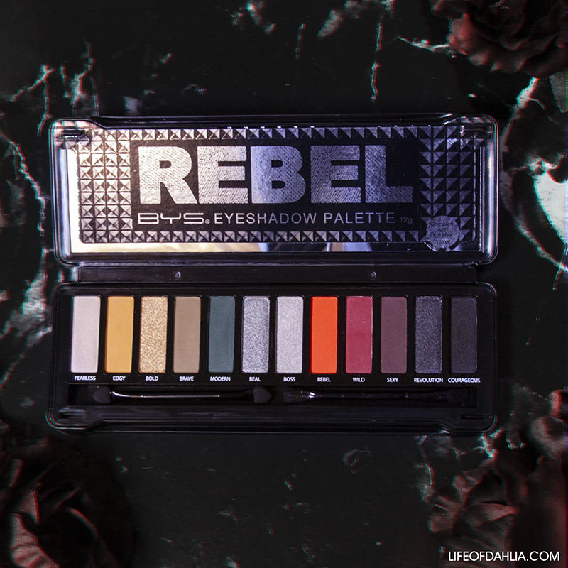 BYS Cosmetics Rebel Eyeshadow Palette Review + Eye Looks | Life of Dahlia