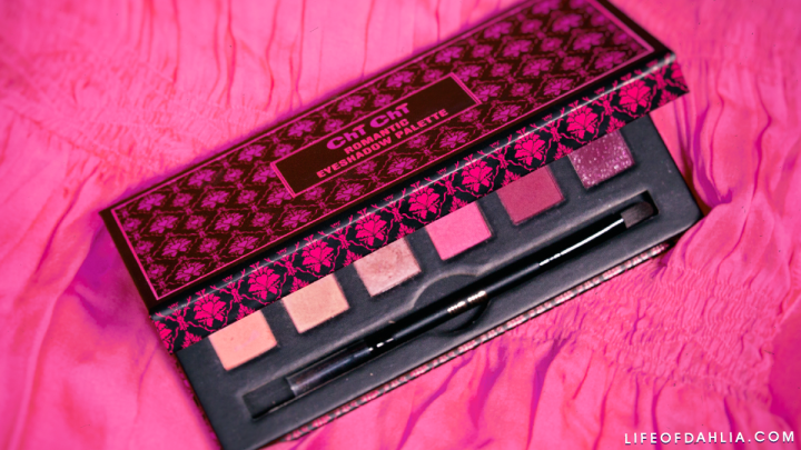 Chi Chi Cosmetics – Romantic Eyeshadow Palette Review