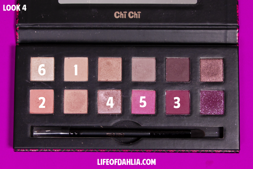 Chi Chi Cosmetics - 'Romantic' Eyeshadow Palette Review | Life of Dahlia