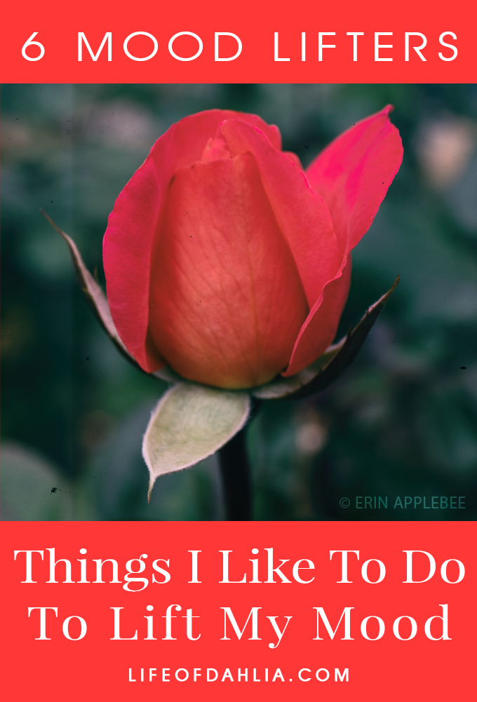 6 Mood Lifters - Things I Like To Do To Lift My Mood | Life of Dahlia