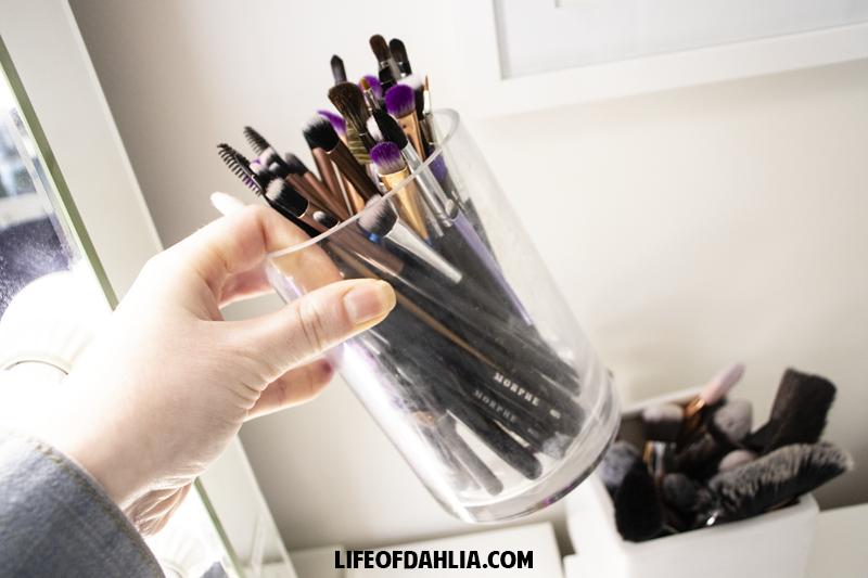 Inexpensive Makeup Organization | Life of Dahlia