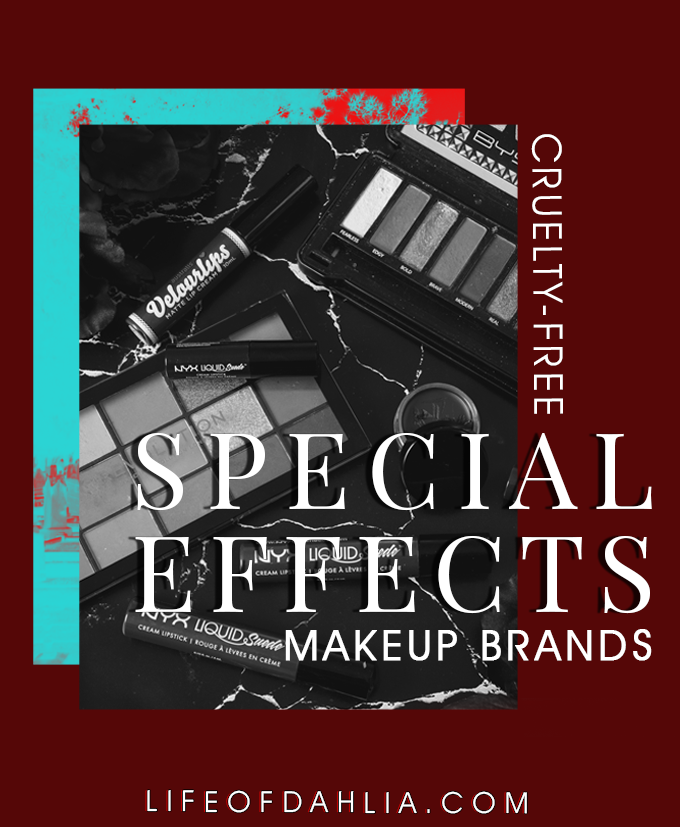 Cruelty-Free Special Effects Makeup Brands | Life of Dahlia