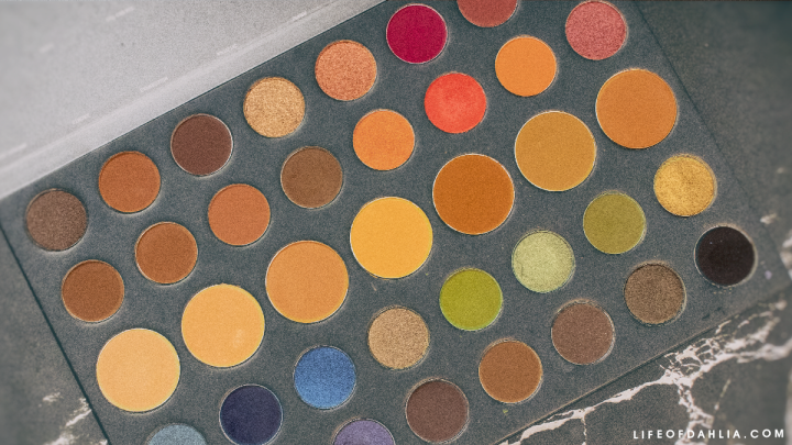 Morphe 39A Dare To Create Artistry Eyeshadow Palette Review +Looks