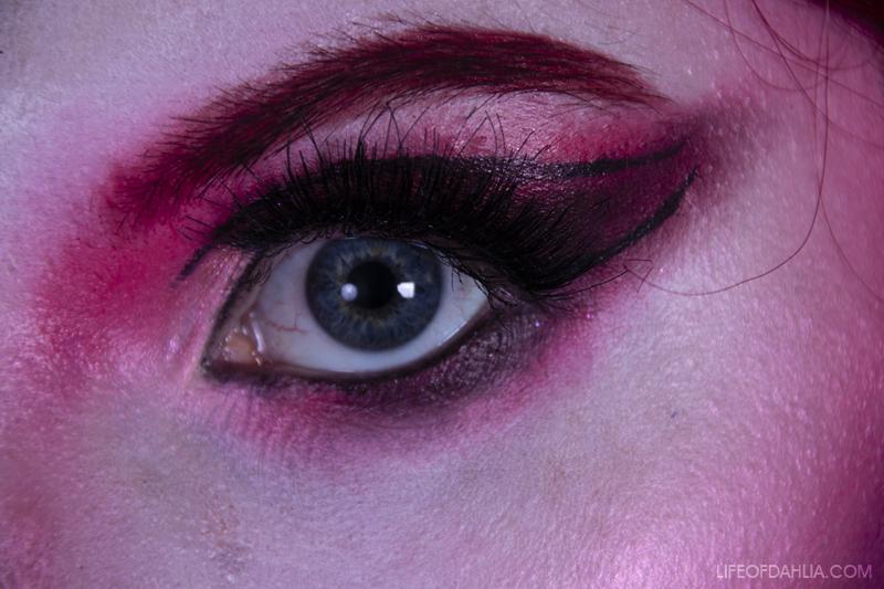 Getting Creative: Fantasy Self-Portrait & Makeup | Life of Dahlia
