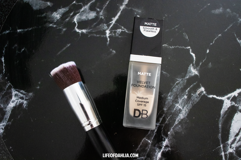 Wear Test & Review - Testing DB Cosmetics Matte foundation | Life of Dahlia