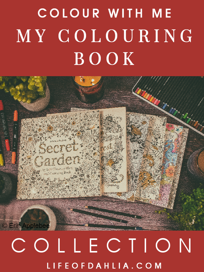 Colour With Me - My Colouring Book Collection | Life of Dahlia