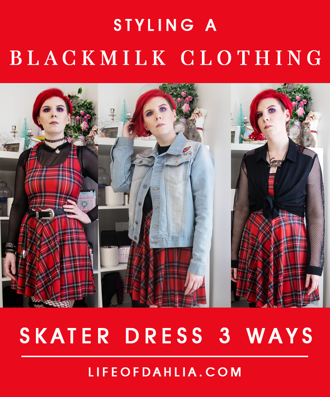 Styling A Blackmilk Clothing Skater Dress 3 Ways | Video Content | Life of Dahlia