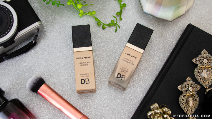 Designer Brands Hydrating Foundation & Rise & Prime Primer review