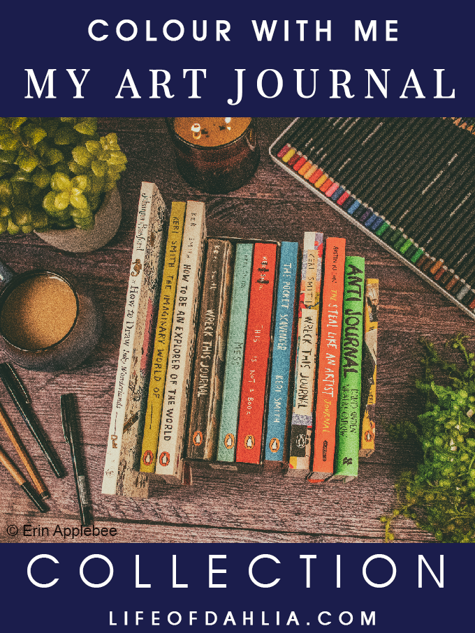 My Art Journal Collection (Wreck This Journal, Anti Journal,...) | Life of Dahlia