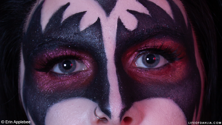 Rock n' Roll Series – Recreating the Makeup of Kiss |Gene Simmons 'The Demon' Makeup Look