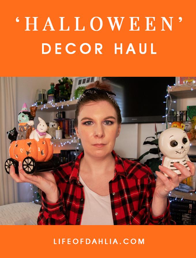 Halloween Decor Haul | Video Content