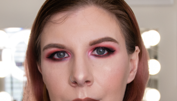 IGTV | Grungy Red & Black Eye Look | Video Content