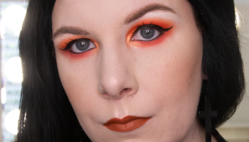 IGTV | Orange Makeup Look | Life of Dahlia