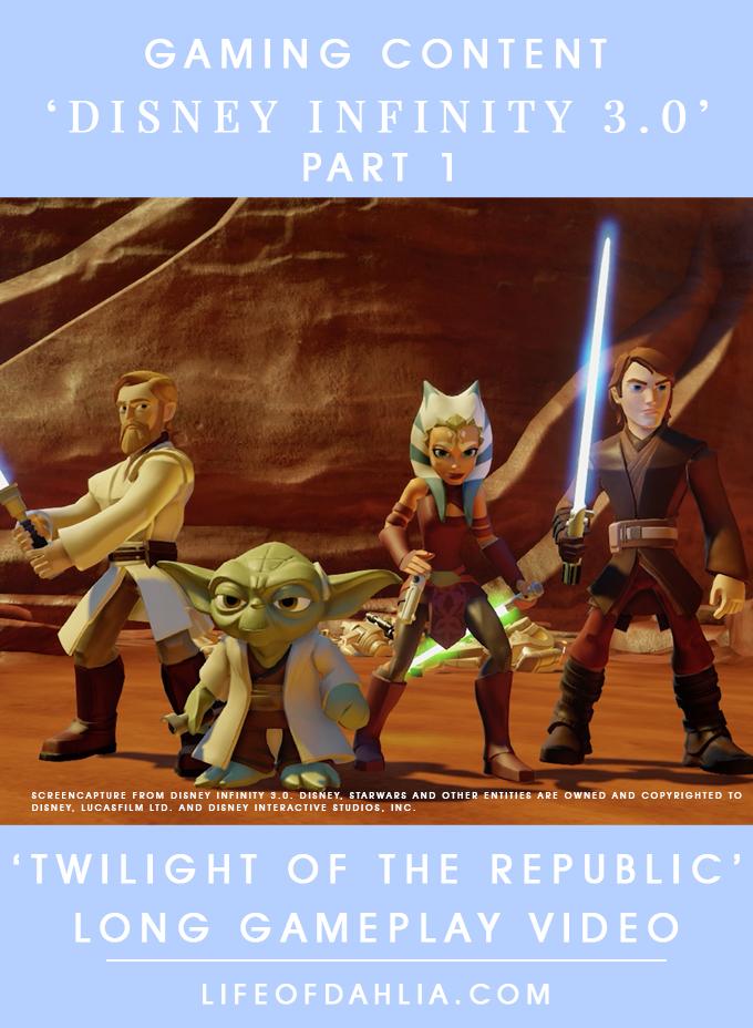 Gaming Content | Disney Infinity 3.0 Long Gameplay Ep. 1 | Life of Dahlia